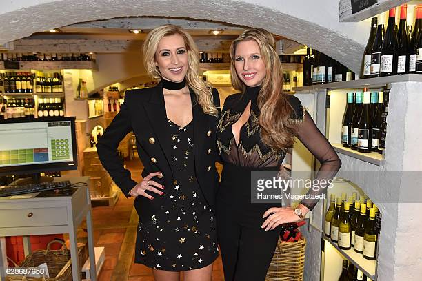 Verena Kerth and Sabine Piller during the CONNECTIONS PR XMAS Cocktail at Kaefer Atelier on December 8 2016 in Munich Germany