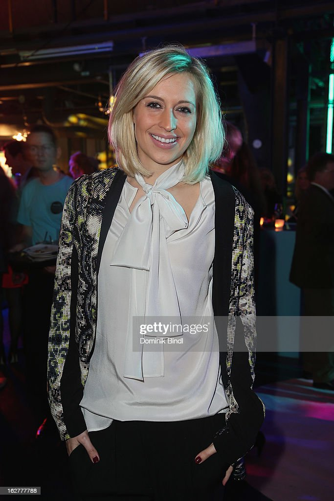 Verena Kerth attends the BRIGITTE fashion event 2013 on February 26, 2013 in Munich, Germany.