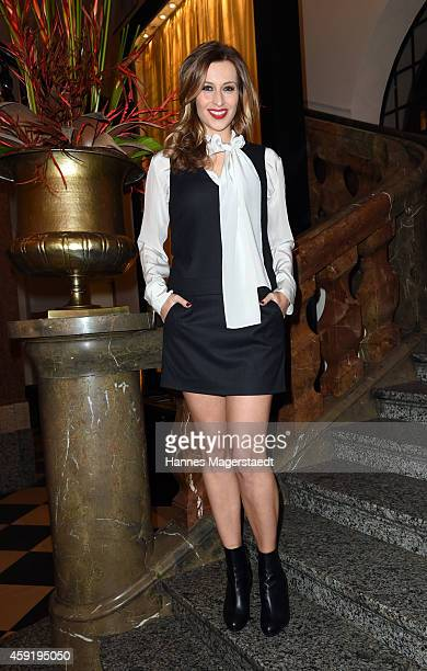Verena Kerth attends the 'Ernsting's Family Fashion Dinner' at Rilano No 6 on November 18 2014 in Munich Germany