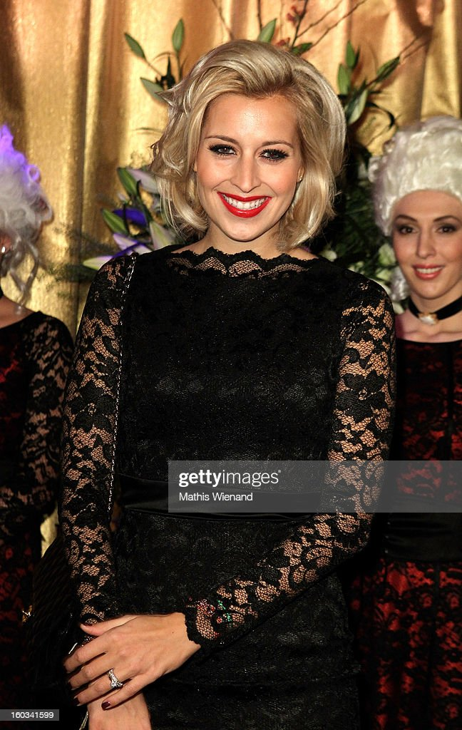 Verena Kerth attends the 'Lambertz Monday Night' at 'Alter Wartesaal' on January 28, 2013 in Cologne, Germany.