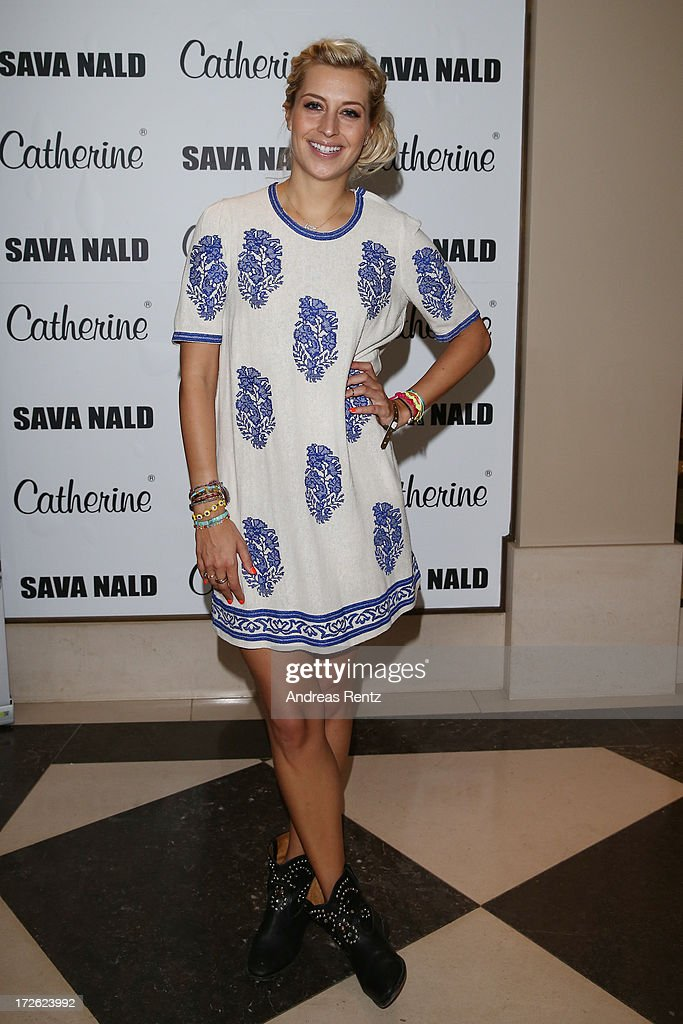 Verena Kerth attends the Sava Nald Show during the Mercedes-Benz Fashion Week Spring/Summer 2014 at Hotel Adlon on July 4, 2013 in Berlin, Germany.