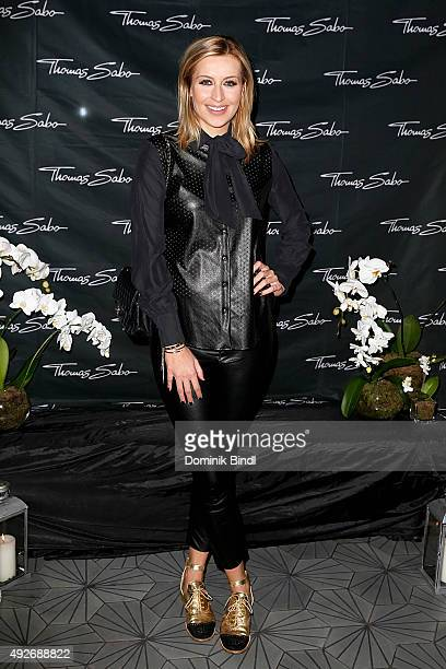 Verena Kerth attends the Thomas Sabo grand flagship store opening on October 14 2015 in Munich Germany