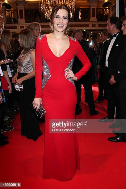 Verena Kerth during the Audi Generation Award 2014 at Hotel Bayerischer Hof on December 3 2014 in Munich Germany