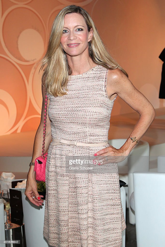 Verena Klein attends the presentation of the Baume & Mercier 'Promesse' Ladies Collection at Haus der Kunst on July 2, 2014 in Munich, Germany.