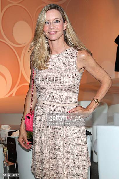 Verena Klein attends the presentation of the Baume Mercier 'Promesse' Ladies Collection at Haus der Kunst on July 2 2014 in Munich Germany