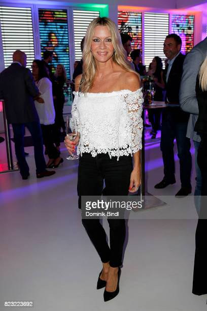 Verena Klein during the Audemars Piguet and Wempe OldSchool Hip Hop Party at Skyloftstudios on July 26 2017 in Munich Germany