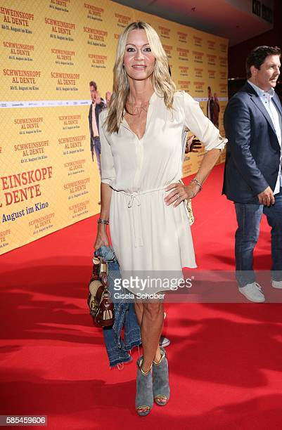 Verena Klein during the premiere of the film 'Schweinskopf al dente' at Mathaeser Filmpalast on August 2 2016 in Munich Germany
