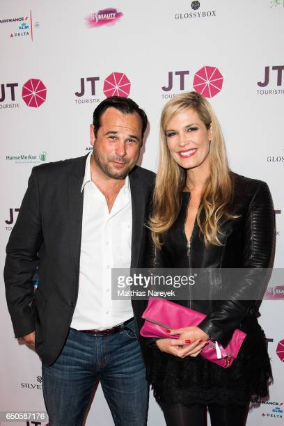 Verena Wriedt and friend attend the JT Touristik party at Hotel De Rome on March 9 2017 in Berlin Germany