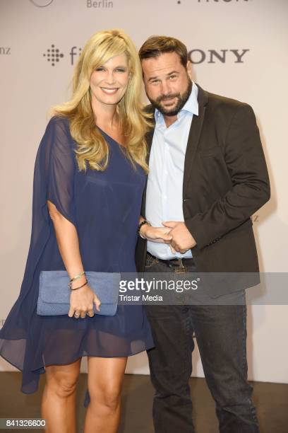 Verena Wriedt and her husband Thomas Schubert attend the IFA 2017 opening gala on August 31 2017 in Berlin Germany