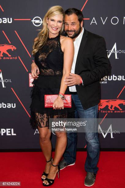 Verena Wriedt and her husband Thomas Schubert attend the New Faces Award Film at Haus Ungarn on April 27 2017 in Berlin Germany