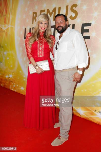 Verena Wriedt and her husband Thomas Schubert attend the Remus Lifestyle Night on August 3 2017 in Palma de Mallorca Spain