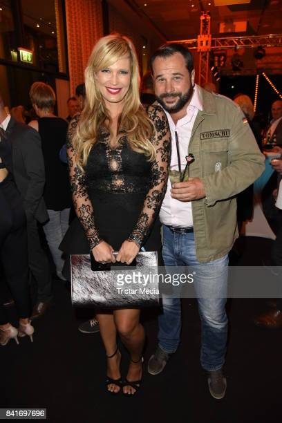 Verena Wriedt and her husband Thomas Schubert during the Alcatel Entertainment Night feat Music Meets Media at Sheraton Berlin Grand Hotel Esplanade...