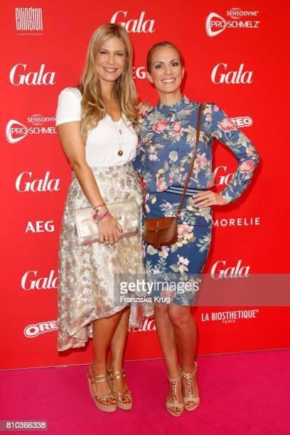 Verena Wriedt and Kerstin Linnartz attend the Gala Fashion Brunch during the MercedesBenz Fashion Week Berlin Spring/Summer 2018 at Ellington Hotel...