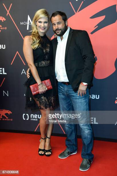 Verena Wriedt and Thomas Schubert attend the New Faces Award Film at Haus Ungarn on April 27 2017 in Berlin Germany