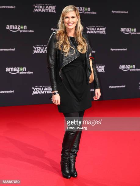 Verena Wriedt arrives at Amazon Prime Video's premiere of the series 'You are Wanted' at CineStar on March 15 2017 in Berlin Germany