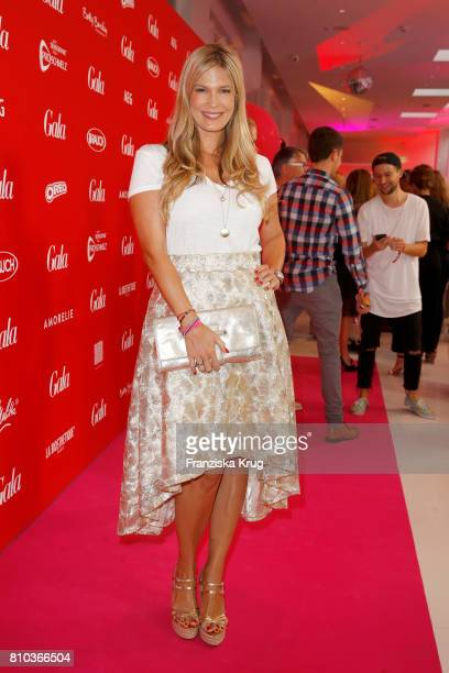 Verena Wriedt attends the Gala Fashion Brunch during the MercedesBenz Fashion Week Berlin Spring/Summer 2018 at Ellington Hotel on July 7 2017 in...