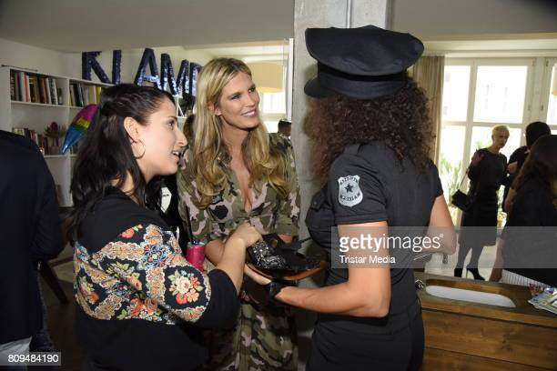 Verena Wriedt attends the Klambt Fashion Cocktail in Berlin at Soho House on July 5 2017 in Berlin Germany