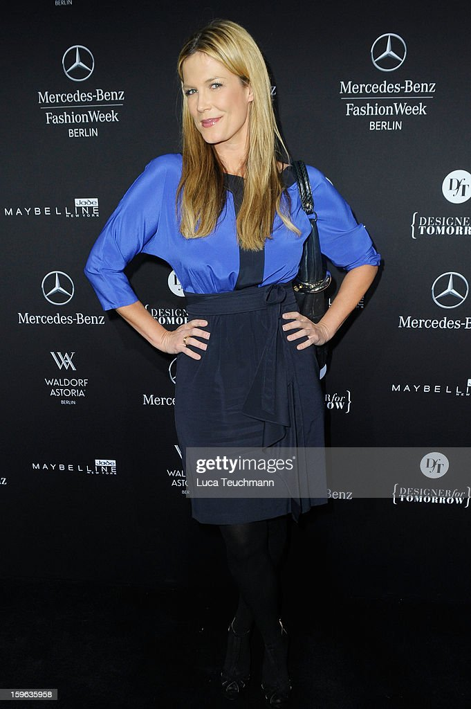 Verena Wriedt attends the Laurel Autumn/Winter 2013/14 fashion show during Mercedes-Benz Fashion Week Berlin at Brandenburg Gate on January 17, 2013 in Berlin, Germany.