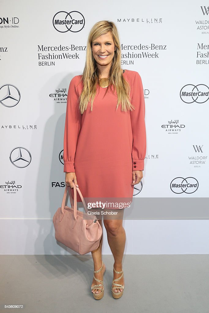 <a gi-track='captionPersonalityLinkClicked' href=/galleries/search?phrase=Verena+Wriedt&family=editorial&specificpeople=2464807 ng-click='$event.stopPropagation()'>Verena Wriedt</a> attends the Minx by Eva Lutz show during the Mercedes-Benz Fashion Week Berlin Spring/Summer 2017 at Erika Hess Eisstadion on June 29, 2016 in Berlin, Germany.