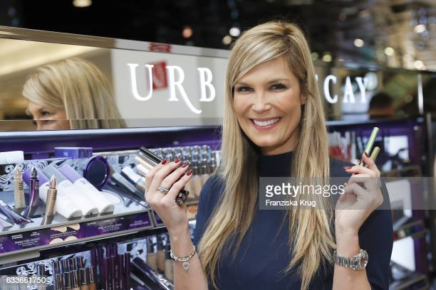Verena Wriedt attends the Urban Decay ReOpening at KaDeWe Berlin on February 3 2017 in Berlin Germany