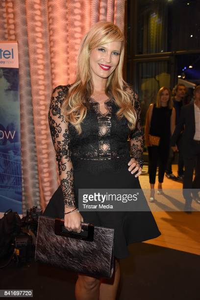 Verena Wriedt during the Alcatel Entertainment Night feat Music Meets Media at Sheraton Berlin Grand Hotel Esplanade on September 1 2017 in Berlin...