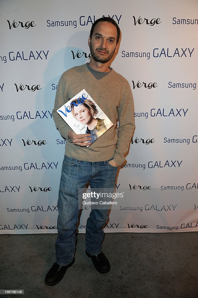 Verge founder and creative director Jeff Vespa attends the Samsung Gallery Launch Party To Celebrate The Verge List - 2013 on January 19, 2013 in Park City, Utah.