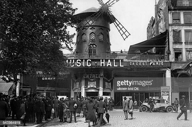 Vergnügungsstätte 'Moulin Rouge' 1927