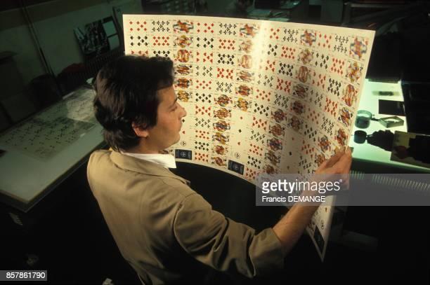 Verification d'un jeu de cartes complet avant decoupage France