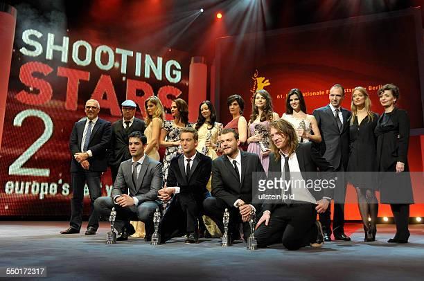 Verleihung der Shooting Star Awards an die Schauspieler Alexander Fehling Sylvia Hoeks Natasha Petrovic Nik Xhelilaj Marija Skaricic Clara Lago...
