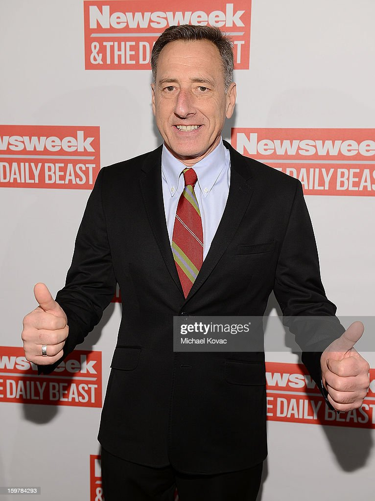 Vermont Governor Peter Shumlin attends The Daily Beast Bi-Partisan Inauguration Brunch at Cafe Milano on January 20, 2013 in Washington, DC.