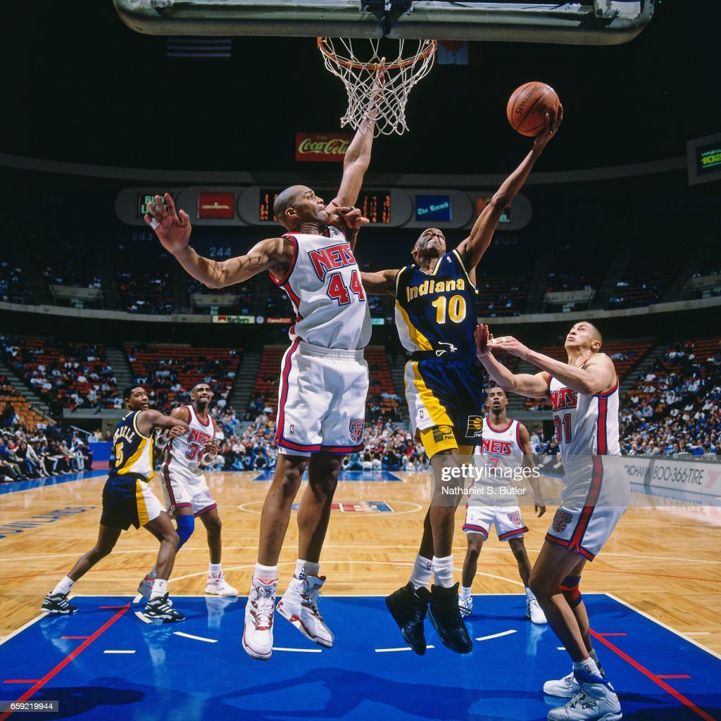 Indiana Pacers v New Jersey Nets