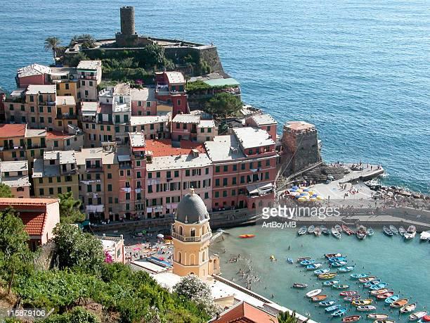 Vernazza in Cinque Terra in Italien