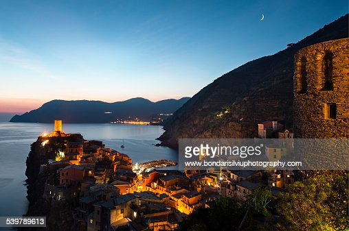 Vernazza night