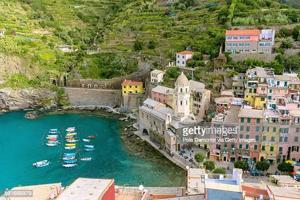 Vernazza small town, Cinque Terre, Liguria, Italy