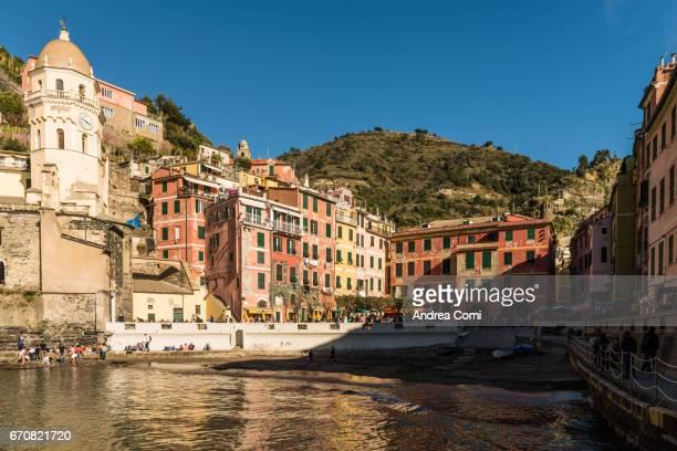 Vernazza townscape. Cinque Terre, La Spezia, Liguria.