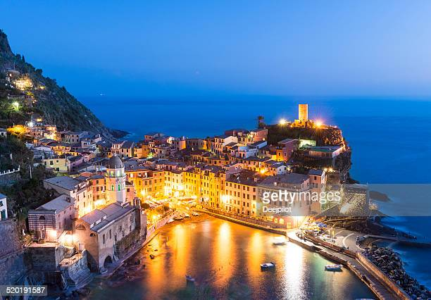 Vernazza Village in the Cinque Terre Italy
