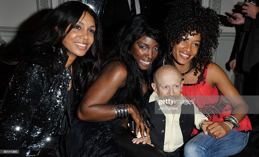 Verne Troyer and guests attend the after party for the UK Premiere of 'The Imaginarium Of Doctor Parnassus' at the Langham Hotel on October 6, 2009 in London, England.