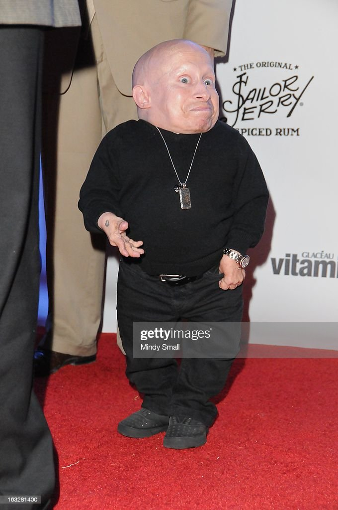 <a gi-track='captionPersonalityLinkClicked' href=/galleries/search?phrase=Verne+Troyer&family=editorial&specificpeople=1521173 ng-click='$event.stopPropagation()'>Verne Troyer</a> attends the Fremont Country Club opening with Louis Prima Jr. and The Witnesses at Fremont Country Club on March 6, 2013 in Las Vegas, Nevada.