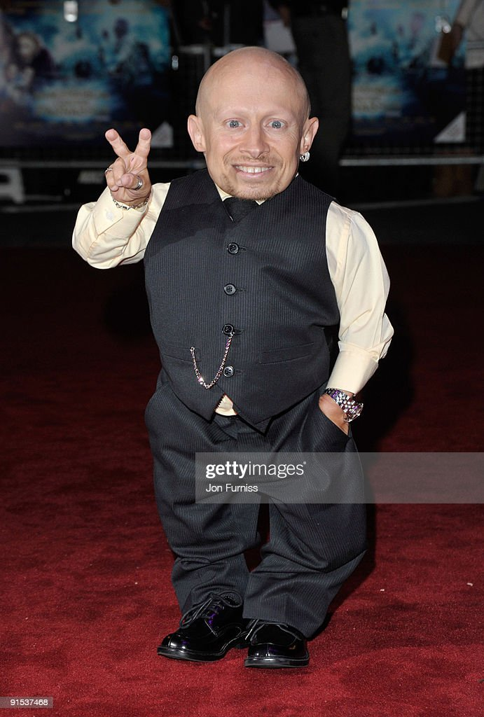 Verne Troyer attends the UK Premiere of 'The Imaginarium Of Doctor Parnassus' at the Empire Leicester Square on October 6, 2009 in London, England.