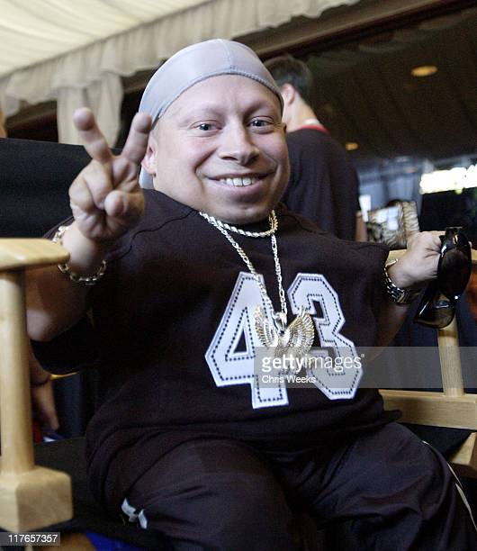 Verne Troyer during 2003 Teen Choice Awards Backstage Creations Day of Show at Universal Amphitheatre in Universal City California United States