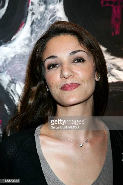 Vernissage Of Cynthia Sarkis Perros At Adler Gallery In Paris France On April 26 2007 Nadia Fares