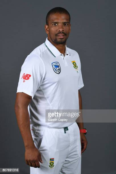 Vernon Philander of South Africa poses for a portrait at Lord's Cricket Ground on July 4 2017 in London England