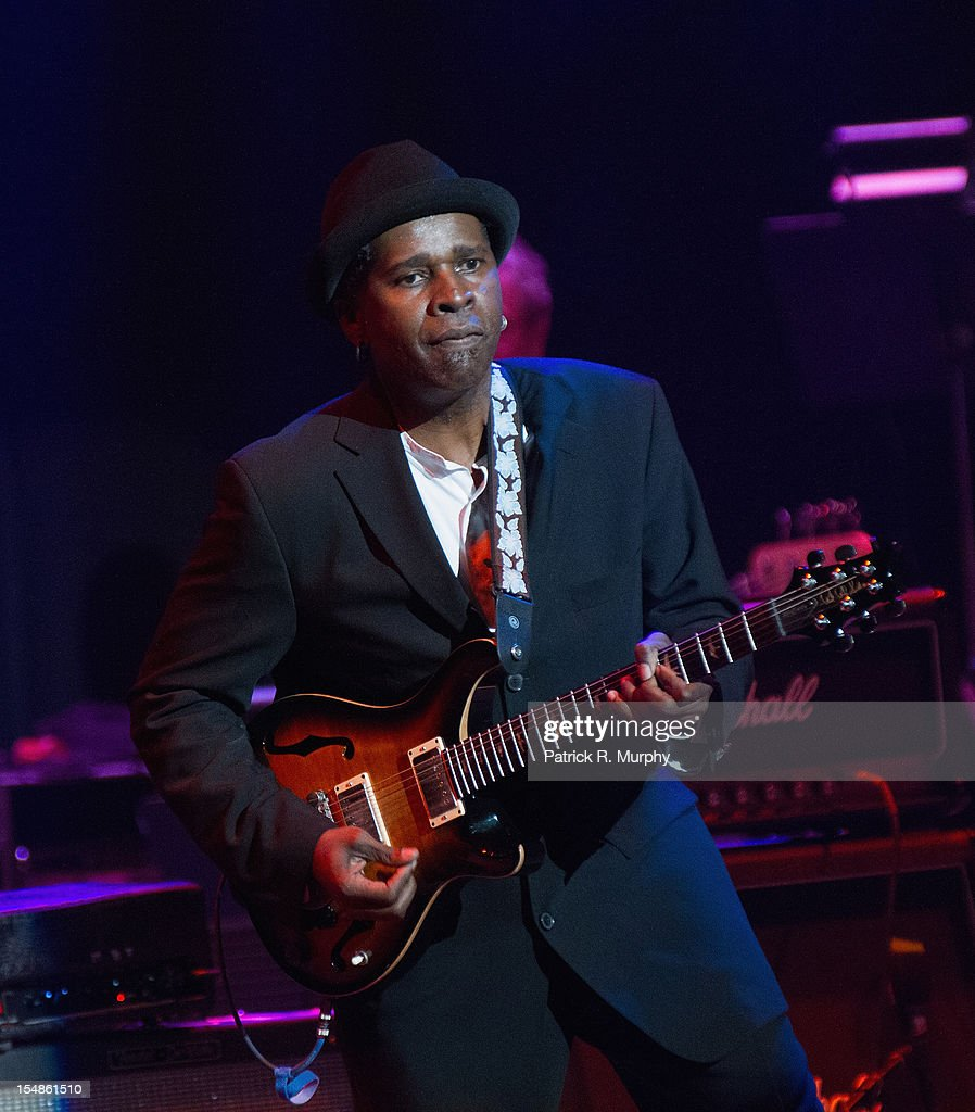 Vernon Reid performs during the Chuck Berry Tribute Concert at the State Theatre on October 27, 2012 in Cleveland, Ohio.