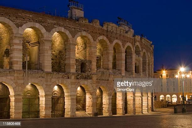 Arena di Verona a notte