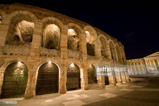 Arena di Verona da notte
