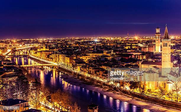 Verona By Night, Italy