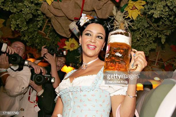 Verona Feldbusch Pooth Beim Stammtisch Von Der Zeitschrift 'Frau Im Spiegel' Im Hippodrom Auf Dem Oktoberfest In München Am 190904