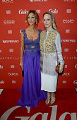 Verona Pooth and Anne MeyerMinnemann attend the GALA Fashion Brunch at Ellington Hotel on January 22 2015 in Berlin Germany