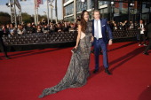 Verona Pooth and Franjo Pooth attend the Deutscher Fernsehpreis 2013 Red Carpet Arrivals at Coloneum on October 02 2013 in Cologne Germany