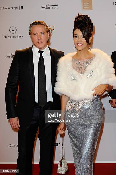 Verona Pooth and Franjo Pooth attend the Red Carpet for the Bambi Award 2011 ceremony at the RheinMainHallen on November 10 2011 in Wiesbaden Germany